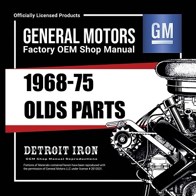 1968-75 Oldsmobile PARTS - CD