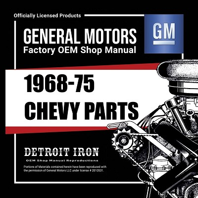 1968-75 Chevy Car PARTS - CD