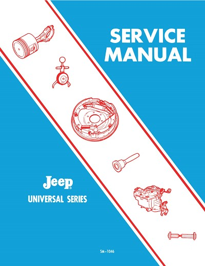 1966 - 1971 Jeep CJ Shop Manual (SM-1046)