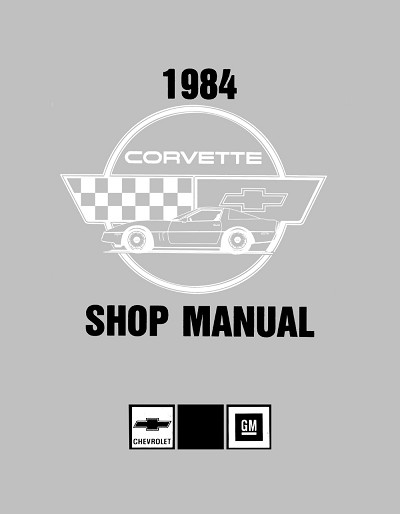 1984 Chevrolet Corvette Shop Manual