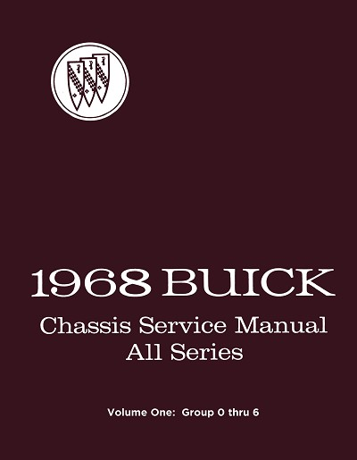 1968 Buick Chassis Service Manual - All Series