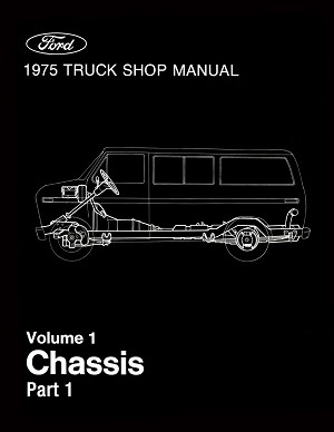 1975 Ford Truck Shop Manual - 5 Volumes