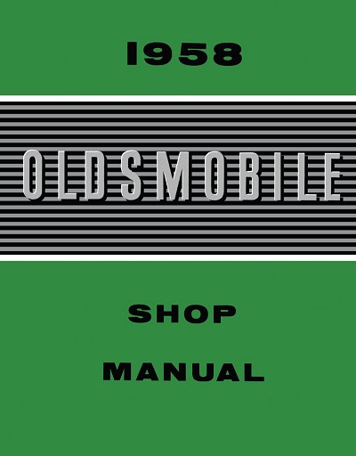 1958 Oldsmobile Shop Manual