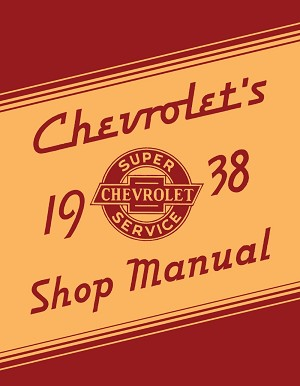 1938 Chevrolet Shop Manual